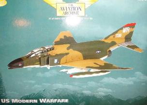 MCDONNEL F-4D PHANTOM, 78TFS, 81ST TFW, USAFE, RF WOODBRIDGE, SUFFOLK 1970- US MODERN WARFARE-CORGI AA33218 1:72 SCALE