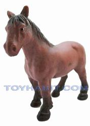 G Scale Railroad Figure-BROWN PONY