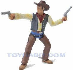 G SCALE LAYOUT  FIGURE-COWBOY WITH TWO GUNS