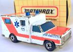 MATCHBOX - VINTAGE-MATCHBOX 1977- MB 25- PARAMEDICS AMBULANCE(#1OF2)