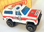 MATCHBOX - VINTAGE-  MB50 CHEVY BLAZER 4X4(SHERIFF SP-7)