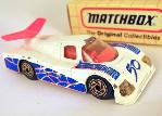 MATCHBOX - VINTAGE-  MB 66 SAUBER GROUP C  RACER