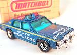 MATCHBOX - VINTAGE-  MB 16 FORD LTD STATE POLICE