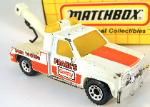 MATCHBOX - VINTAGE- MB 21 GMC WRECKER FRANK'S TOWING