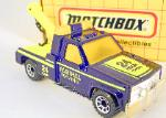 MATCHBOX - VINTAGE- MB 21 GMC WRECKER PARKHILL TOWING
