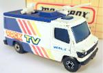 MATCHBOX - VINTAGE-MB 68- TV NEWS TRUCK- ROCK TV MOBILE 1