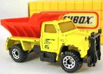 MATCHBOX - VINTAGE- MB 45 SNOW PLOW HIGHWAY MAINTENANCE TRUCK