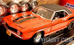 1969 YENKO CAMARO-STREET  STRIP-SUPERCAR COLLECTIBLES SERIES ISSUE#5-1:18 SCALE