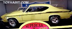 1969 YENCO CHEVELLE 427-1:18 Scale Die Cast- Supercar Collectibles- American Muscle