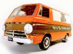 1964 DODGE VAN 1:25 SCALE DIE CAST